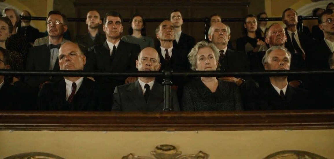 a concerto audience in The Death of Stalin
