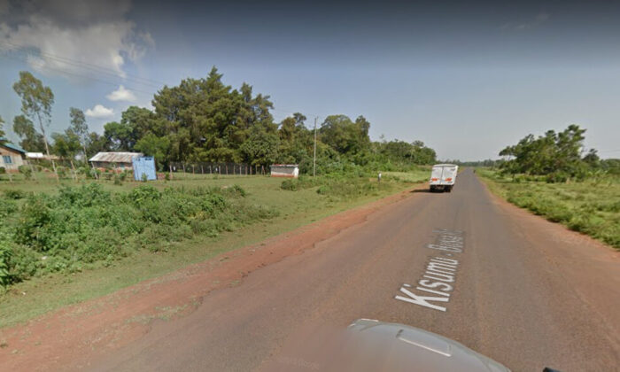 A street view of Malanga Village in Siaya county, Kenya, in June 2018. (Google Maps/Screenshot via The Epoch Times)