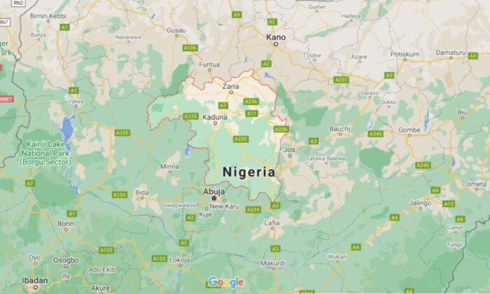 A map of Nigeria. (Google Maps)