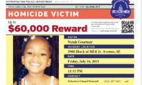 $60,000 Reward Offered After Child Killed, 5 Others Shot in DC