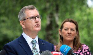 EU Needs to Recognise Northern Ireland Protocol Has Failed: Sir Jeffrey Donaldson