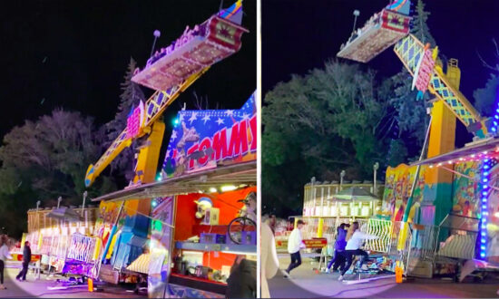 Shocking Video Shows Carnival Ride Almost Pitch Over—Until Fairgoers Rush to Save the Day