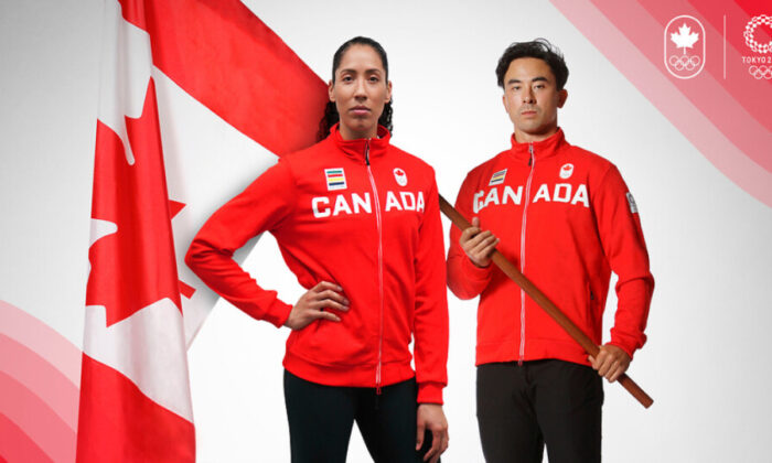 Canada's Miranda Ayim and Nathan Hirayama are pictured in this undated handout photo. (Canadian Olympic Committee)