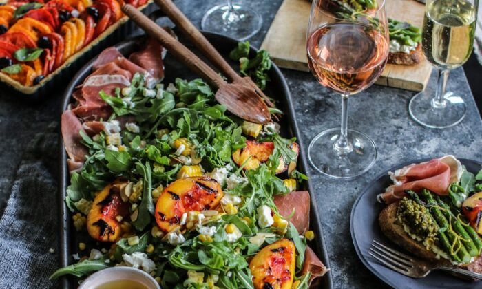 This is a summer salad that you can put your own signature on—so have fun with it. (Courtesy of California Wine Institute/TNS)