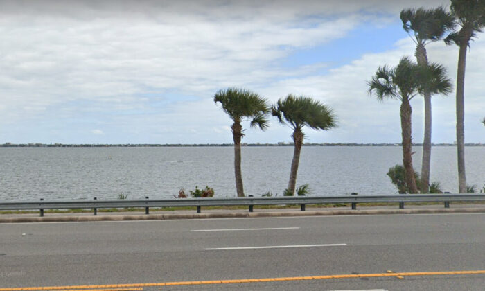 View of the Indian River In Melbourne, Florida on March 2021. (Google Maps)