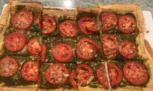 Tomato Pesto Tart Is a Lively Appetizer or First Course