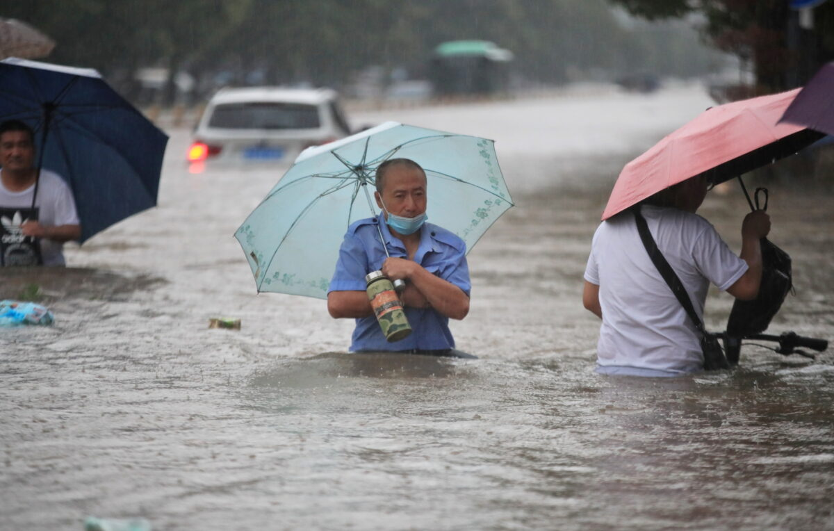 Flood In China 1200x764