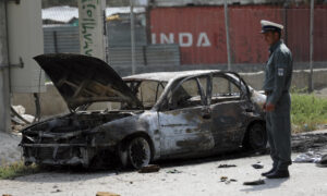 ISIS Claims Responsibility for Rockets Hit Near Afghan Presidential Palace