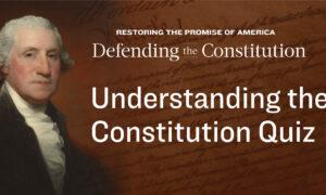 Understanding the Constitution Quiz