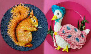 Photos: Creative Mom's Extraordinary Food Art for Kids Is All-Edible and Healthy