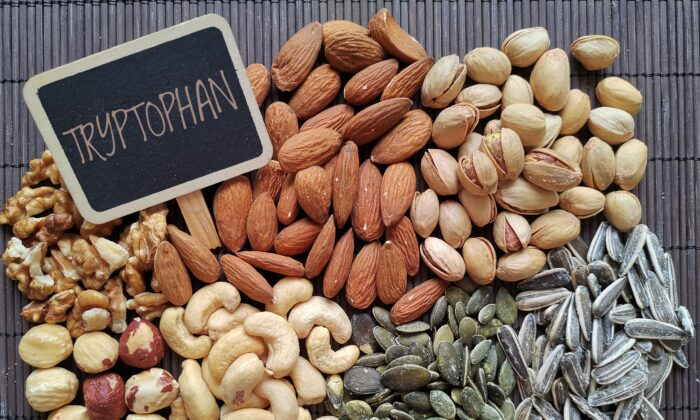 Tryptophan isn't just in turkey. It's also in peanuts, salmon, spinach, and more. (Danijela Maksimovic/Shutterstock)