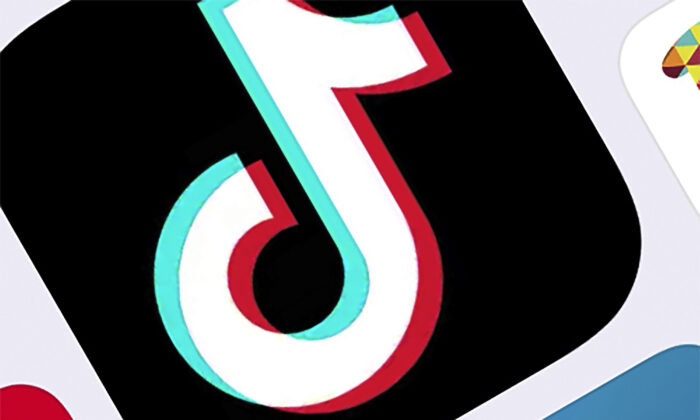The icon for TikTok in New York on Feb. 25, 2020.  (AP Photo/File)