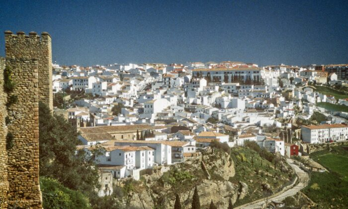 A view of Ronda. (Copyright by Fred J Eckert)