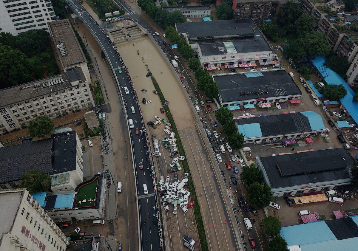 Jingguang tunnel flood