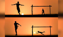 Photographer Uses the Setting Sun to Create Surreal Silhouettes Photo Art—and It's Magical