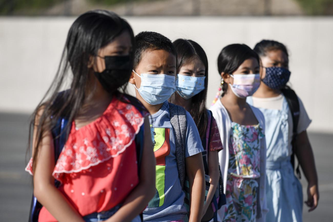 school students masks