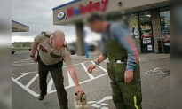 Bodycam Shows Deputy Giving Own Brand-New Boots to Young Serviceman Stranded on Road With No Shoes
