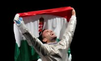Szilagyi Wins 3rd Fencing Gold in Sabre
