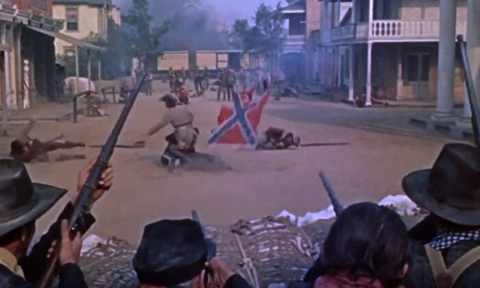 John Ford made only one film dedicated to the Civil War: 'The Horse Soldiers.' (United Artists)