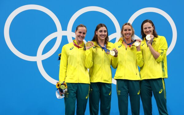 Australia swimming