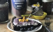 Blueberry-Basil Pie