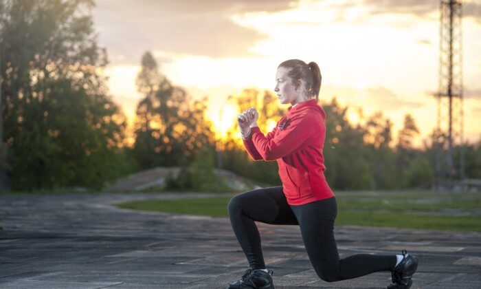Many exercises require nothing but a little space. (Paul Biryukov/Shutterstock)