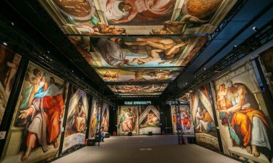 'Michelangelo's Sistine Chapel: The Exhibition' travels the US