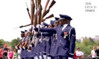 Awesome Performance From U.S. Air Force Honor Guards