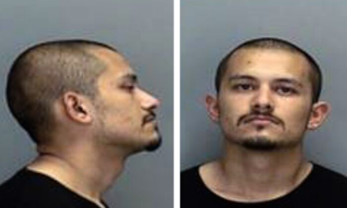 Guillermo O. Raya, 26, was arrested in Oregon on July 26, 2021. (Courtesy of Vancouver Police Department)