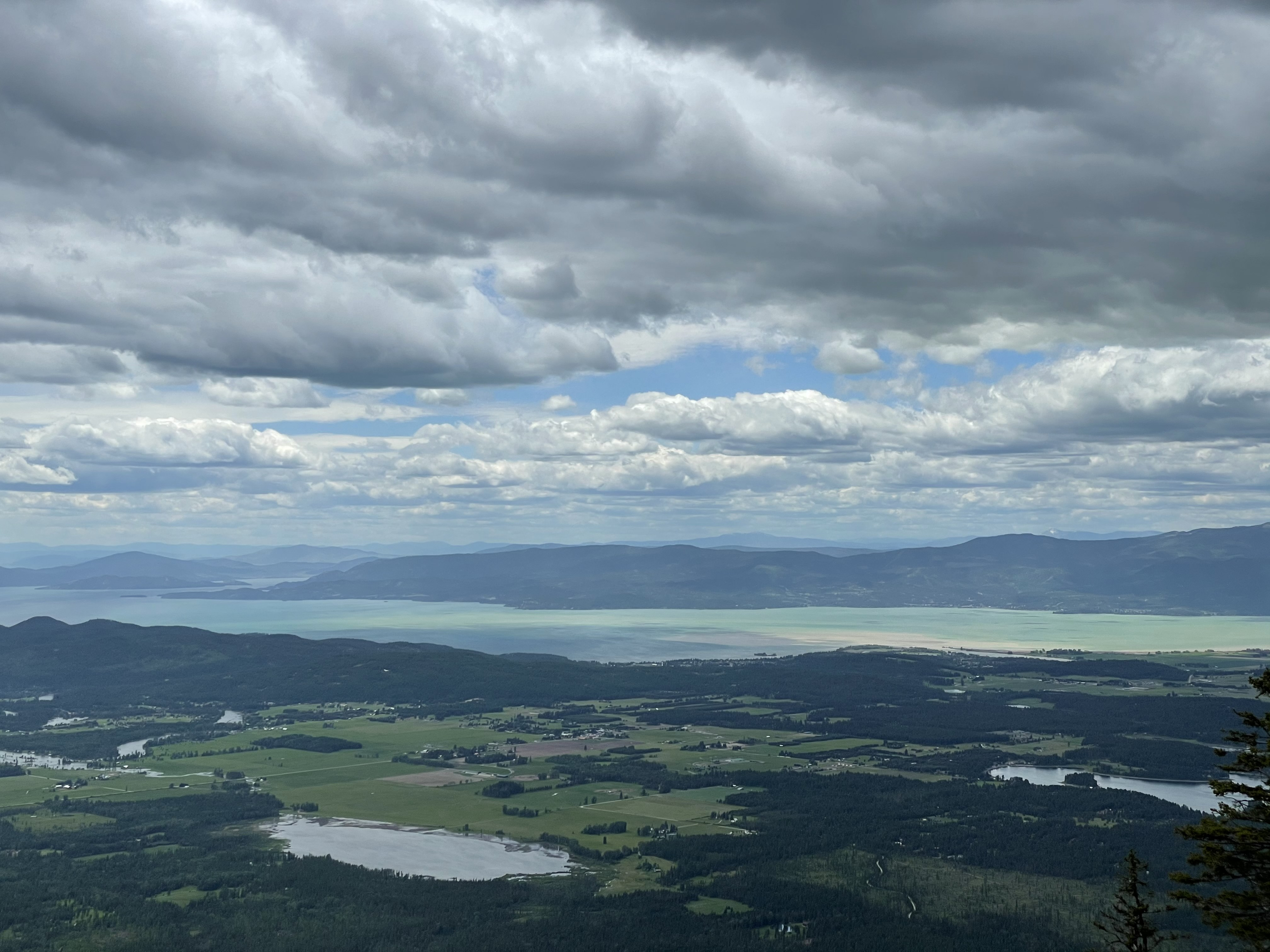 Views of Flathead Lake