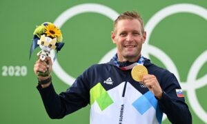 Savsek Wins Slovenia's First Canoe Slalom Gold