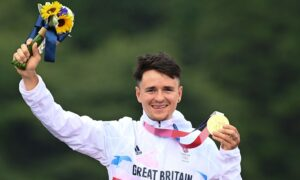 Britain's Pidcock Storms to Cross-Country Gold