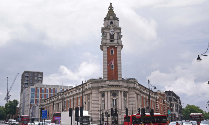 Lambeth Town Hall, the home of Lambeth Council,  in south London on July 27, 2021. (Yui Mok/PA)