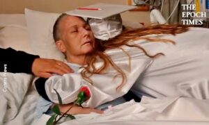 Daughter Graduates in Hospital for Dying Mother
