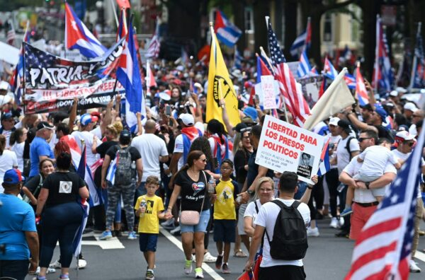 Cuban Protest White House