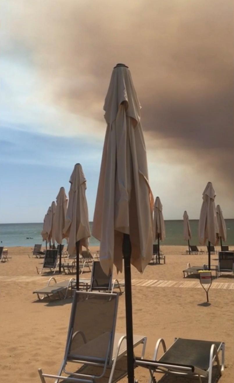 Wildfire in Antalya