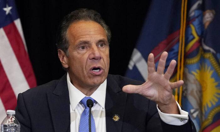 Cuomo Pushes Private Businesses to Mandate 'Vaccine-Only' Admission