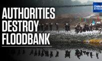 Authorities Destroy River Dikes Amid Floods