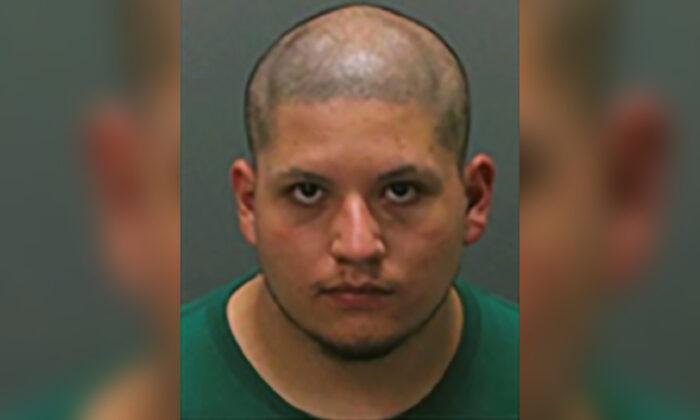 Joseph Jimenez was arrested Tuesday, July 27, 2021 (Corona Police Department via AP).