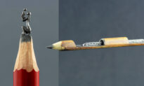Photos: Artist Turns Fragile Pencil Lead Into Incredible Miniature Works of Art