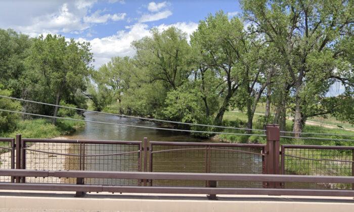 The Cache la Poudre River in Colorado in June 2019. (Google Maps)