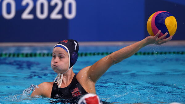 Stephanie Haralabidis of the United States Water Polo team