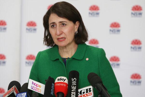 NSW Prime Minister Gladys Beregicrian Extends Great Sydney Blockage