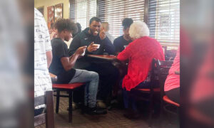 Teen Brothers Join Lone, Elderly Diner at Her Restaurant Table: 'She Was Delighted'