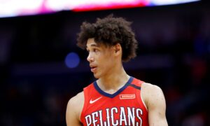 NBA's Jaxson Hayes Arrested in Los Angeles After Struggle With Officers