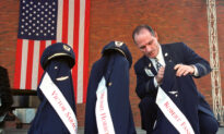 Man Honors 9/11 Crews With Boston-New York Drink Cart Push