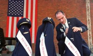 Man Honors 9/11 Crews With Boston-New York Drink Cart Push thumbnail