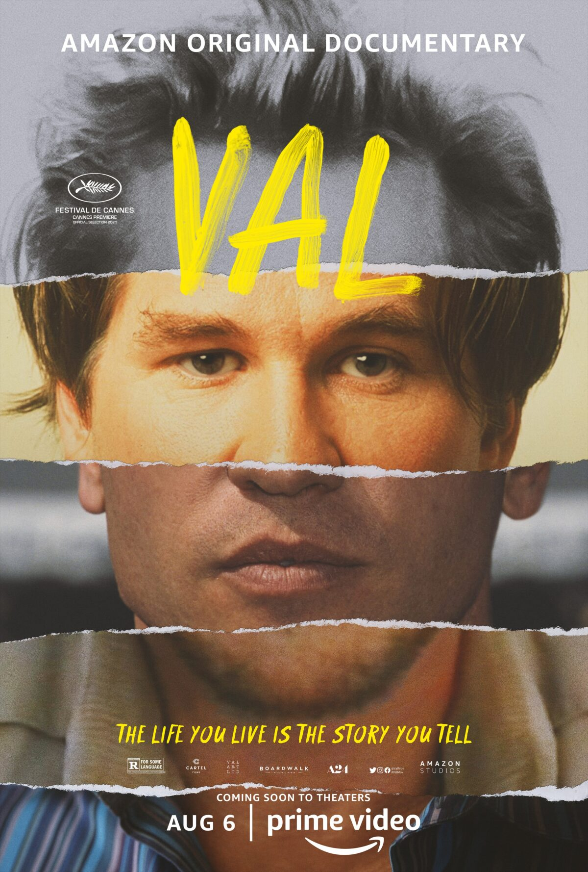 movie poster for Val