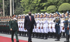 Pentagon Chief in Vietnam to Advance Ties but Rights Concerns Linger