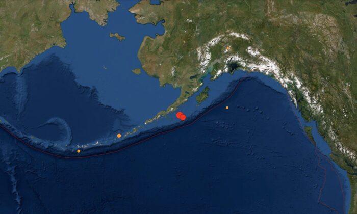 Magnitude 8.2 Earthquake Strikes Near Alaska Triggering Tsunami Warning